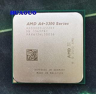 AMD A4-3300 AD33000JZ22HX 2.5 GHz Dual-Core Socket FM1 Processor cpu