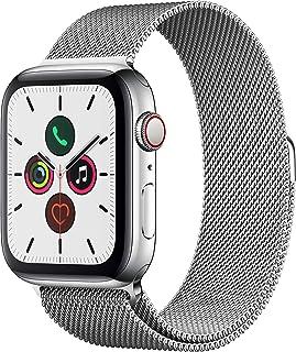 Apple Watch Series 5 (GPS+Cellular, 44 mm) Acero Inoxidable - Milanese Loop