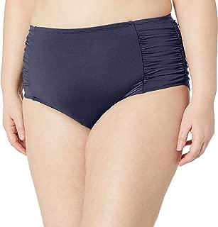 Anne Cole Women's Plus Size Tummy Control High Waist Bikini Swim Bottom