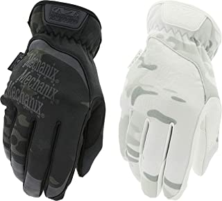 Mechanix Wear - MultiCam 2-Pack Work Gloves (Medium, Black/White)