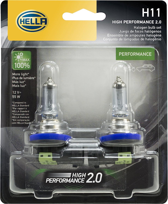 Hella H11 2.0TB Twin Blister Kit
