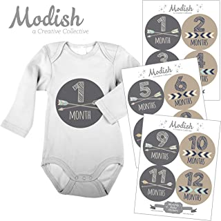 monthly baby labels