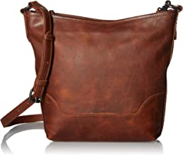 FRYE Melissa Zip Leather Small Hobo