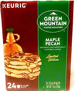 Green Mountain Coffee K-Cup Pods for Keurig Brewers, Maple Pecan, 24 Count