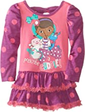 Disney Girls' Doc McStuffins Polka Dot Dress
