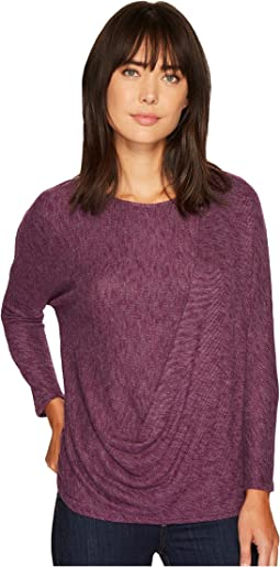 B Collection by Bobeau - Jace Drape Front Cozy Top