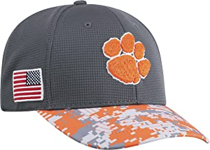 One-Fit Camo Hat Cap Top of the World NCAA Mens Salute to USA Military