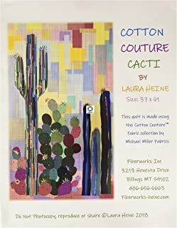 Cotton Couture Cacti Quilt Pattern by Laura Heine