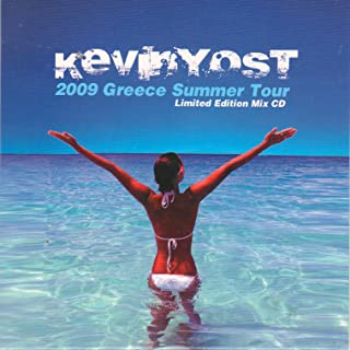 Kevin Yost Greece Summer Tour Limited Edition Mix CD