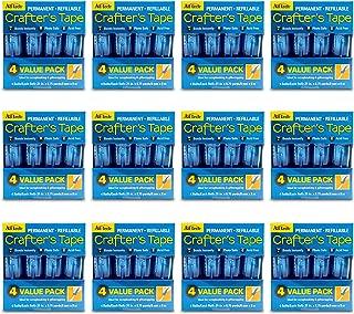 AdTech 05603-CASE Glue Runner For Scrapbooking Supplies, case pack, Clear 12 4pk cartridges