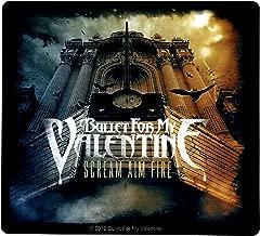 Sticker Bullet For My Valentine Scream Aim Fire Album Art Metal Music Band Decal