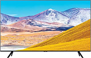 Samsung 55 Inch TV Smart Crystal UHD 4K processor Flat AI Upscale Motion Rate 120+ PQI 2100 HDR10+ Mega Contrast