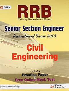 Guide to RRB Civil Engg. (SENIOR SECTION ENGINEER) 2016