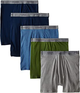 Hanes Ultimate Men's 5-Pack FreshIQ Odor Control Boxer Briefs