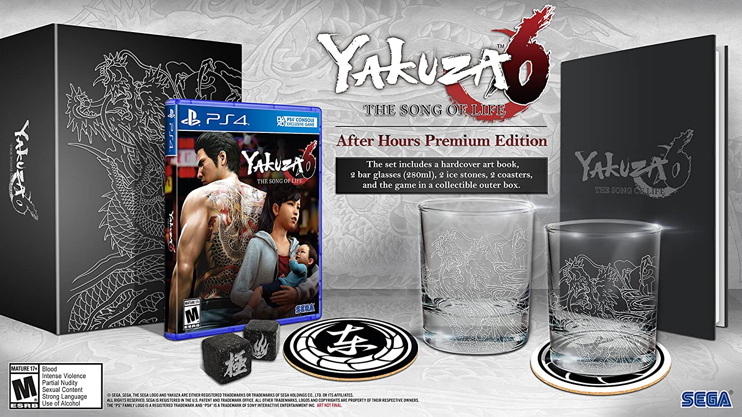 Yakuza 6: Limited price sale The Song of Life Superlatite Premium After - PlayS Edition Hours