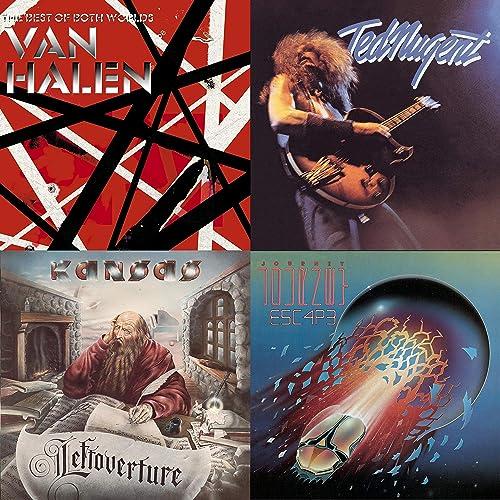 Van Halen and More by Warrant, Ted Nugent, Journey, Van