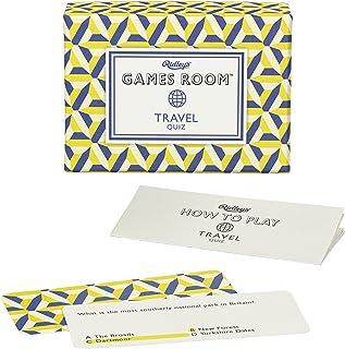 Travel Quiz Card Game