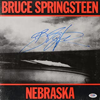 bruce springsteen autograph