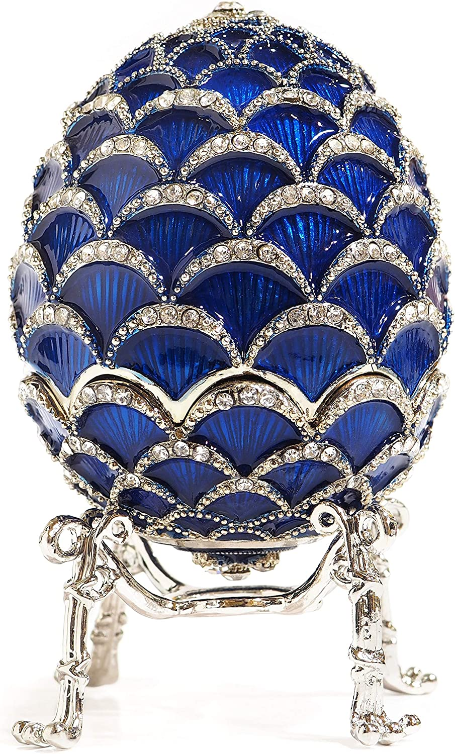 Apropos Hand- Painted Classic Vintage Limited Special Price Ric Egg Ultra-Cheap Deals Faberge Style with