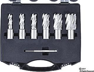 6pc Set Annular Cutter Cobalt 3/4