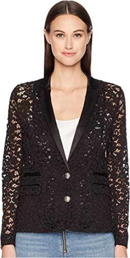 Lace and Satin Jacket
