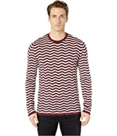 Emporio Armani - Textured Chevron Sweater