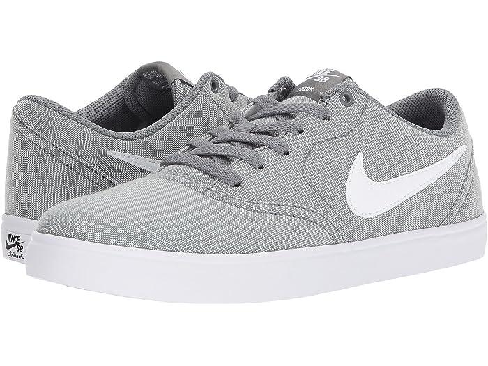 nike sb check gray