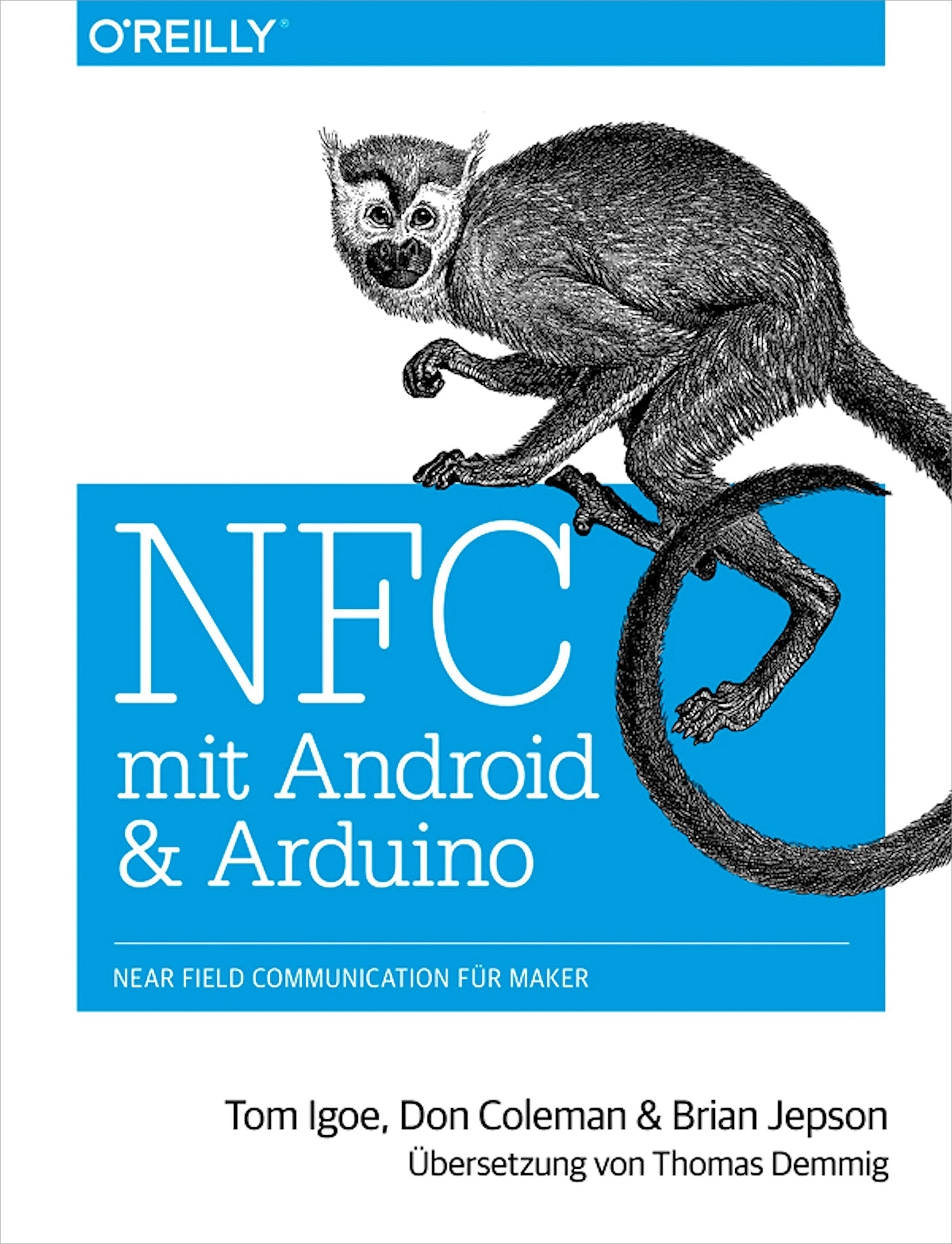 Image OfNFC Mit Android Und Arduino: Near Field Communication Für Maker (German Edition)