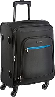 Aristocrat Nile Polyester 54 cms Black Soft Sided Carry-On (STNILW54BLK)