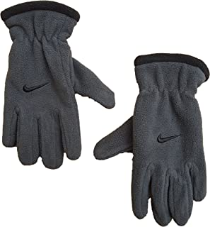Nike Boy Youth One Size 8-20 Microfleece Gloves Black