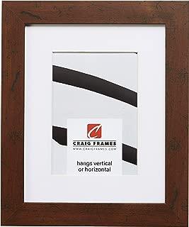 Craig Frames FM26WA 20 x 24 Inch Dark Brown Picture Frame Matted to Display a 16 x 20 Inch Photo