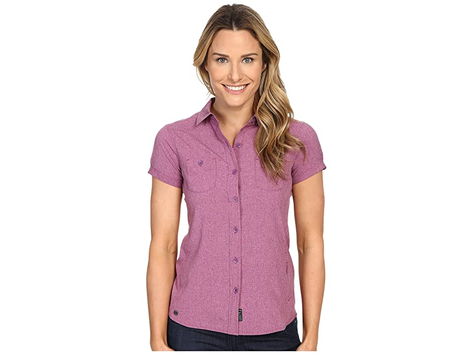Outdoor Research Reflection Short Sleeve Shirt (Wisteria) Women