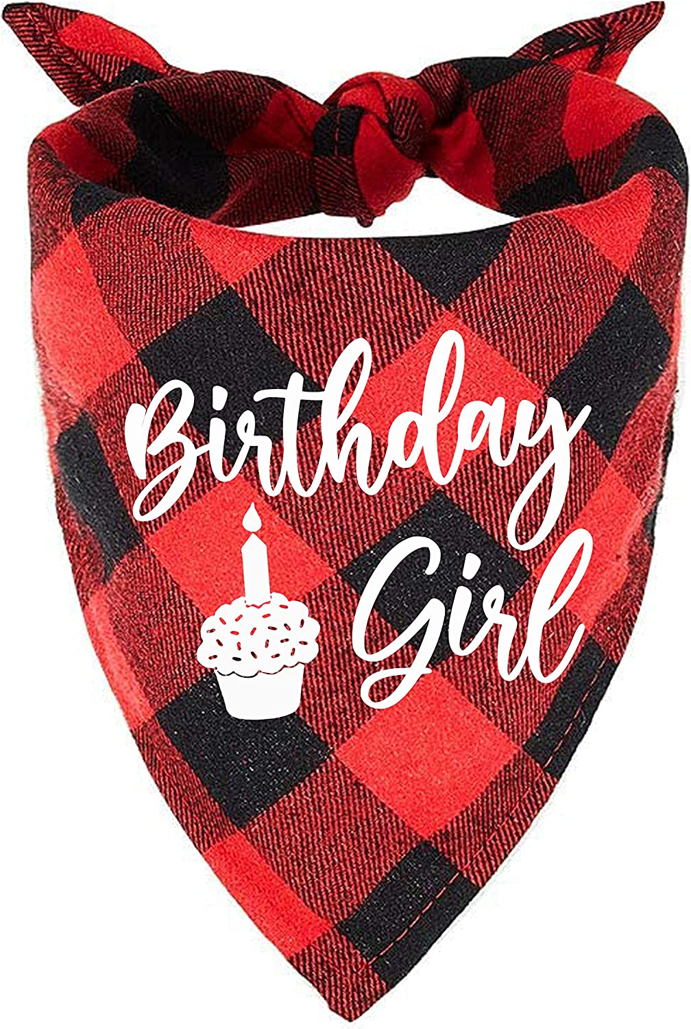 Max 84% OFF family Kitchen Pink Plaid Birthday Girl Pet with Pattern Recommendation Cupcake