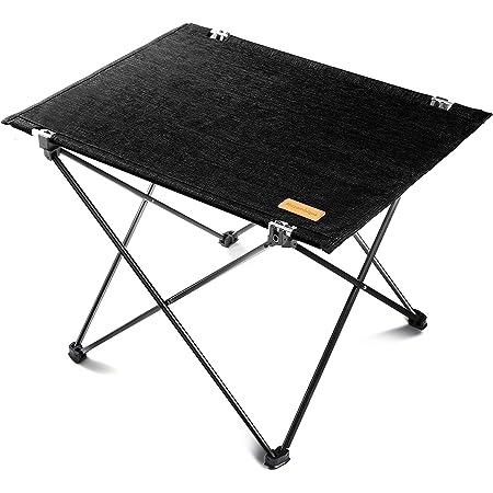 Mozambique(モザンビーク) キャンプ テーブル ロールテーブル アウトドア 折りたたみ 軽量 アルミ製 ピクニック 【インテリアとしても使えるアウトドアテーブル】