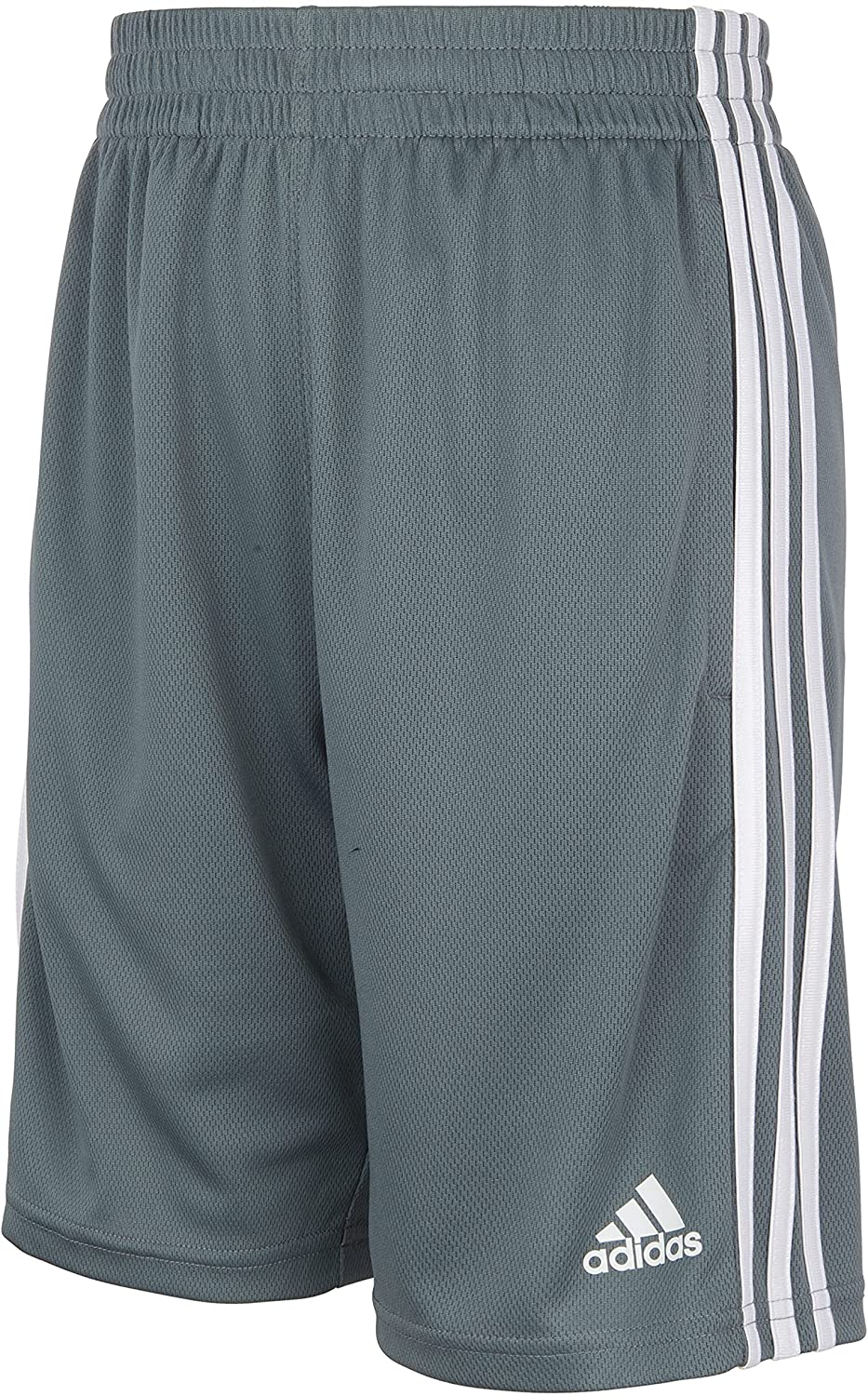 adidas boys Adi Clsic High Ranking integrated 1st place order 3s Shorts Dark Years 8-15 US Gray