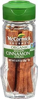 McCormick Gourmet Organic Saigon Cinnamon Sticks, 0.75 oz