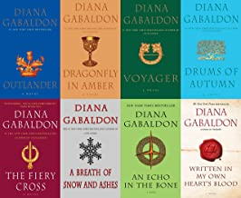 Big Size Diana Gabaldon's Outlander Series - 8 Book Trade Paperback Set (Outlander, Voyager, Dragonfly in Amber, Drums of ...