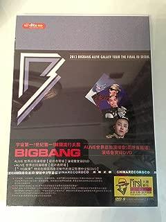 Kpop Korean Music Group Big Bang 2013 Alive Galaxy Tour the Final in Seoul Dvd