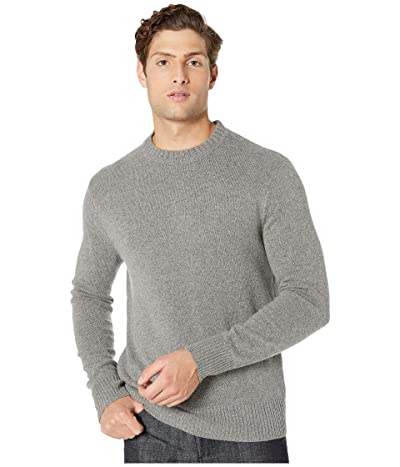 J.Crew Merino Nylon Crew (Heather Pewter) Men
