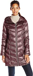 Women's Mid-Length Packable Chevron Down Coat