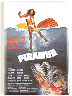Piranha Movie Poster Fridge Magnet (2 x 3 inches)