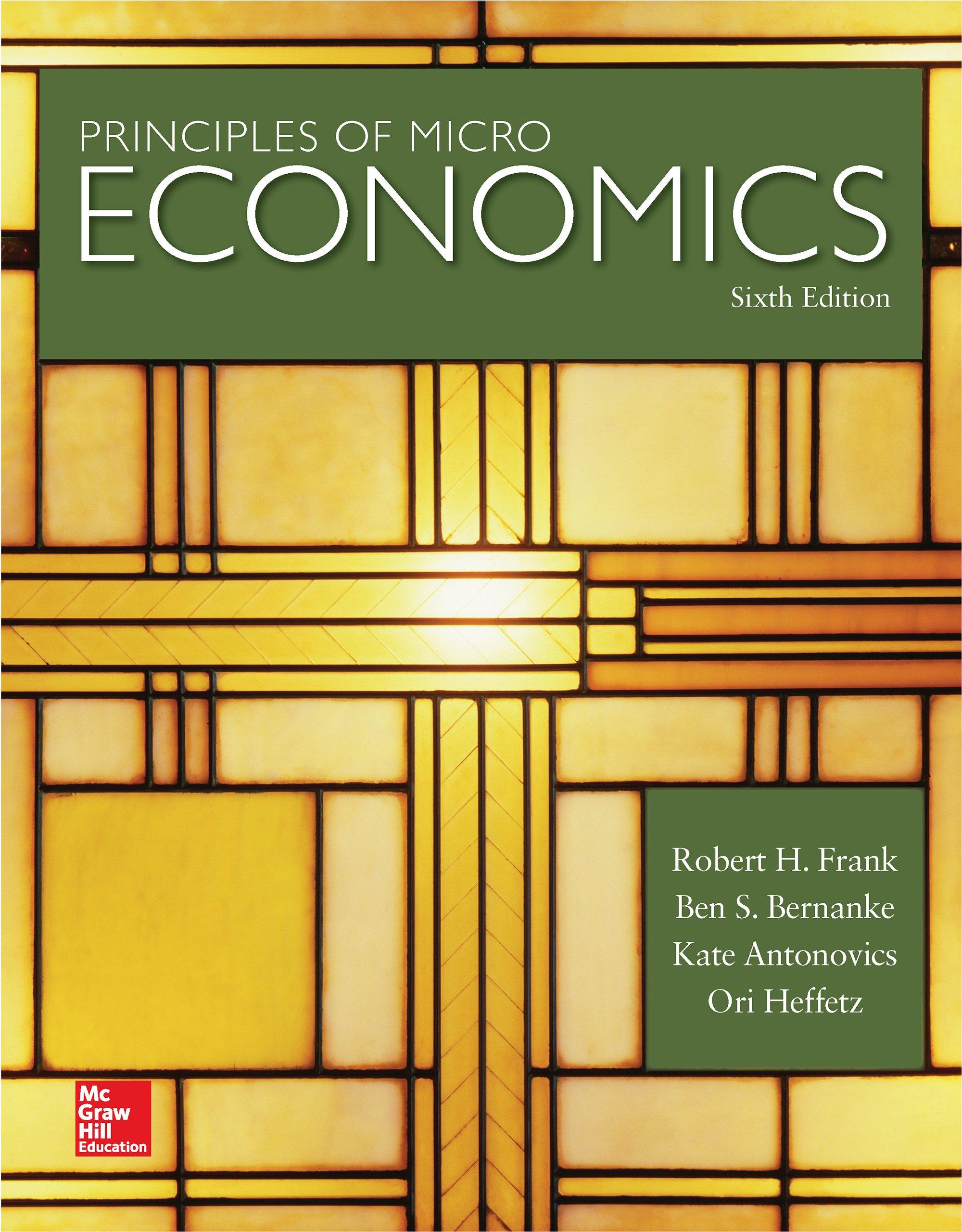Principles of Microeconomics (Irwin Economics)