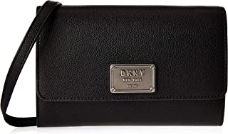 DKNY Women's Wallets Black/Silver - R925AC20