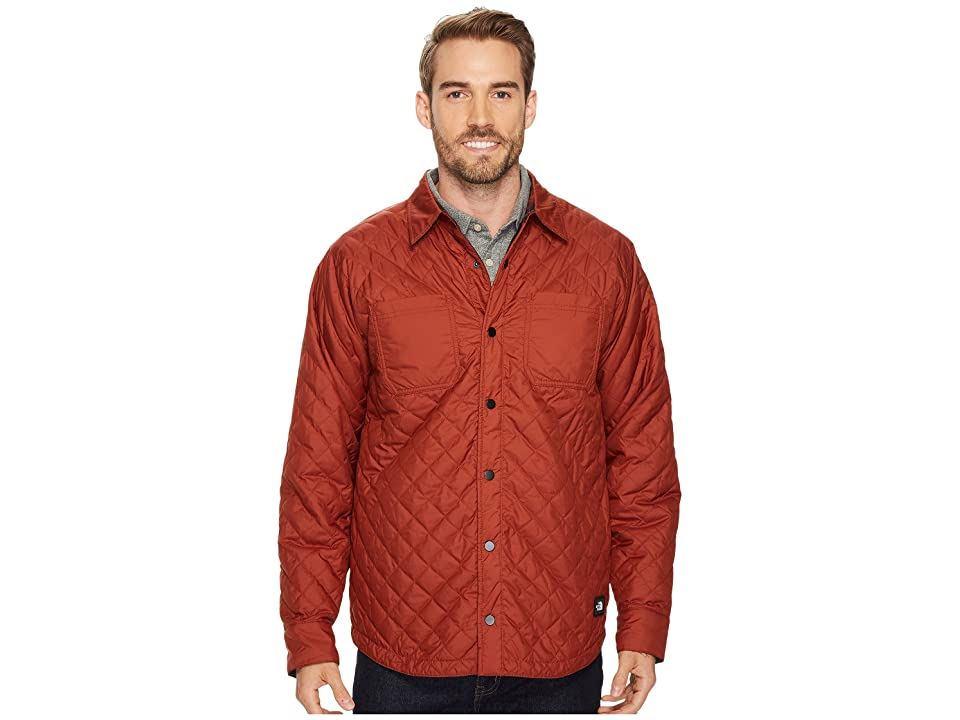 The North Face Fort Point Insulated Flannel (Brandy Brown) Men