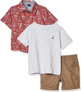NAUTICA Sets (KHQ) Baby Boys' 3 Pieces Shirt Shorts Set