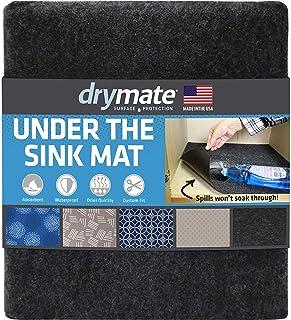"Drymate Premium Under The Sink Mat (24"" x 29""), Cabinet Protection Mat, Shelf Liner.."