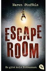Escape Room – Es gibt kein Entkommen (German Edition) Kindle Edition