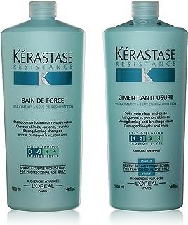 ケラスターゼ(KERASTASE) RE(レジスタンス)業務用セット(バンドフォルス、ソワンドフォルス)[並行輸入品]