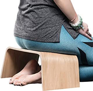 Valiai Strong Wooden Meditation Bench, Also Used for Tea Ceremony, Seiza,Yoga, Praying and Healthier Sitting