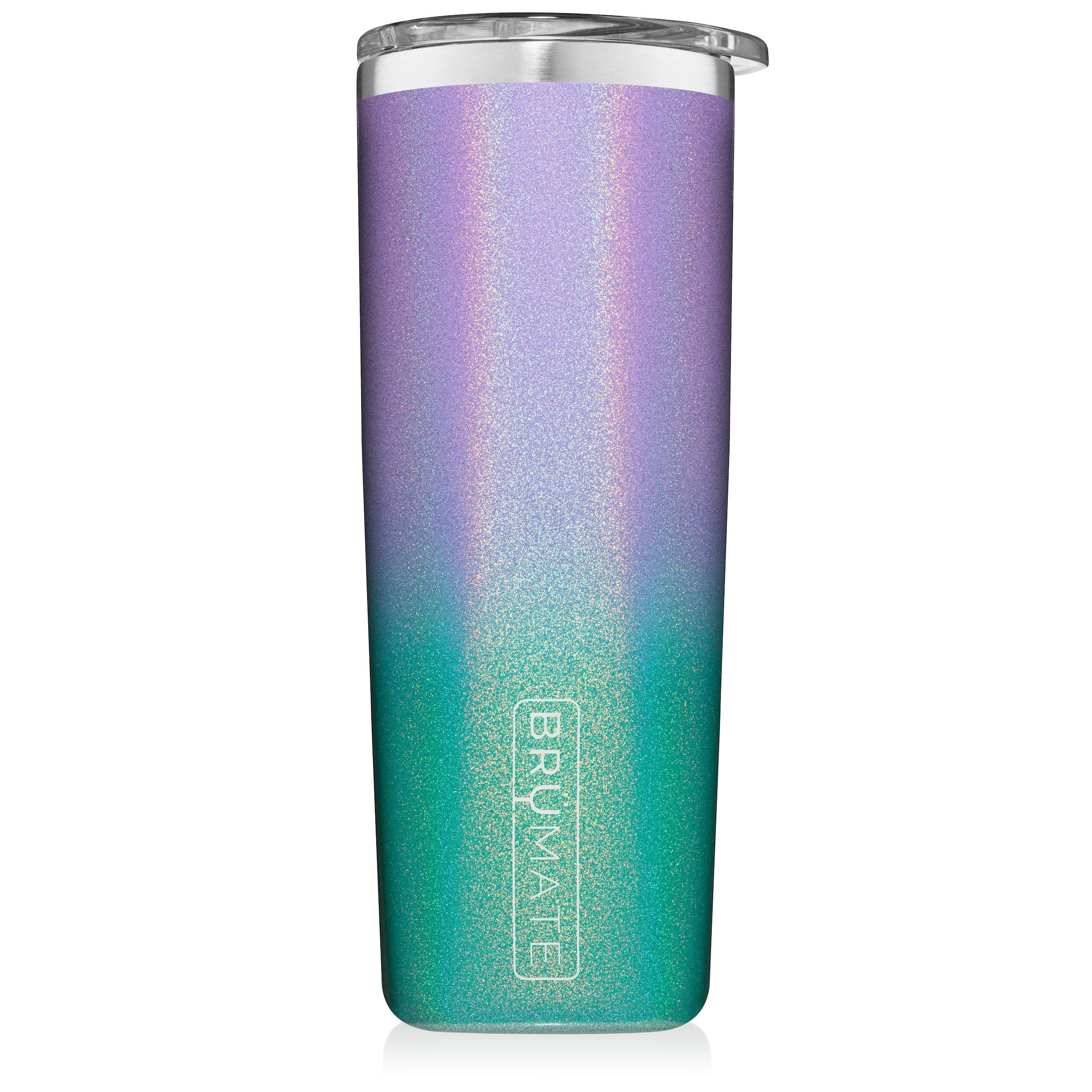 Br/üMate Highball 12oz Insulated Highball Cocktail Tumbler With Splash-proof Lid Made With Triple Insulated Stainless Steel Navy Blue